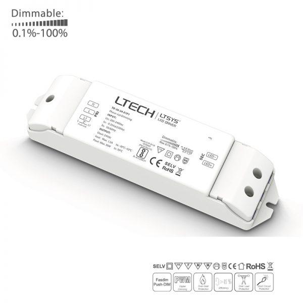 Dimbar LED drivdon 24V 36W Fasdim